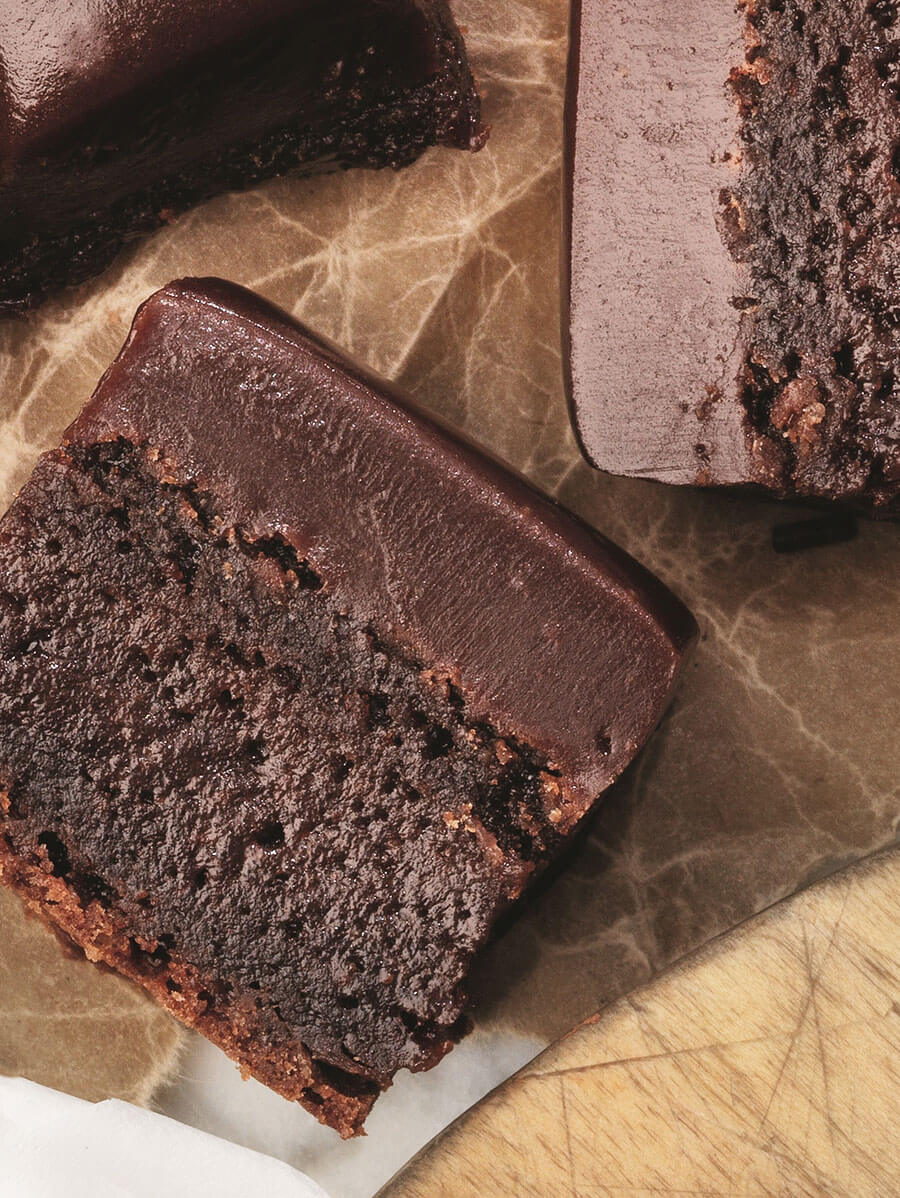 recipe image Brownies med glasyr