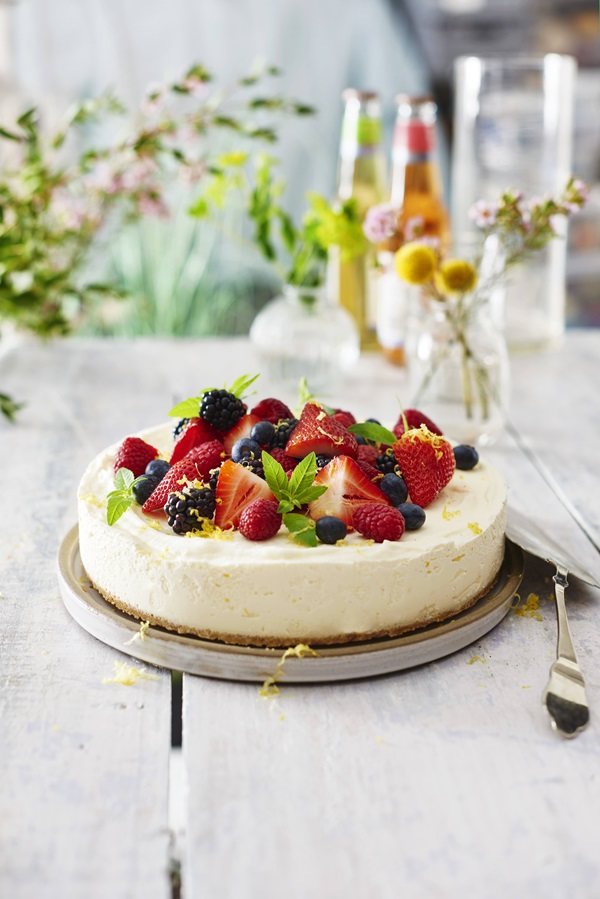 recipe image Sommarcheesecake